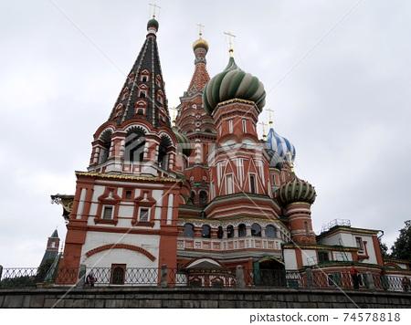 俄羅斯傳統建築 74578818