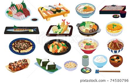 日本料理 74580796