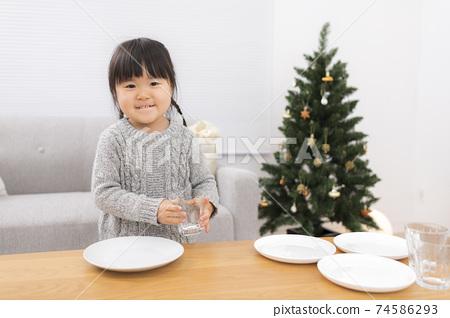 聖誕晚會在家 74586293