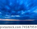 황혼의 바다 모래 동해 2 월 74587959
