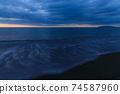 황혼의 바다 모래 동해 2 월 74587960