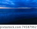 황혼의 바다 모래 동해 2 월 74587962