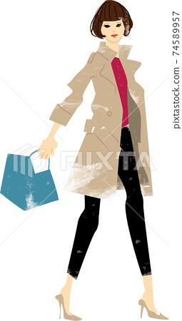 여성 가방 패션 74589957