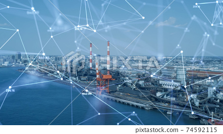 Industry and network 74592115