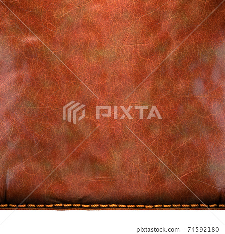 Background made of squared leather. 3D 74592180