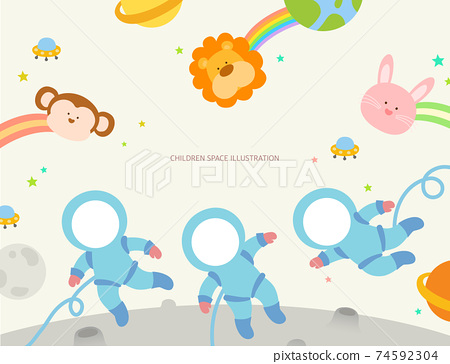 兒童和動物圖08 74592304