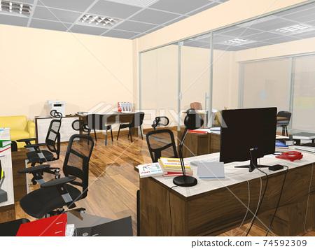 小型辦公室 74592309