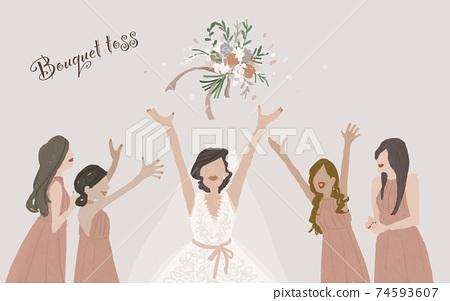 花束折騰,婚禮,婚禮,新娘,婚禮,女人,婚禮花束,可用文字A 74593607