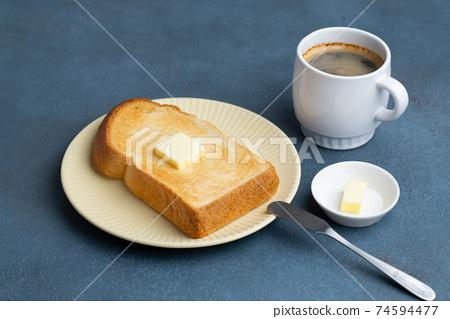 麵包和咖啡 74594477