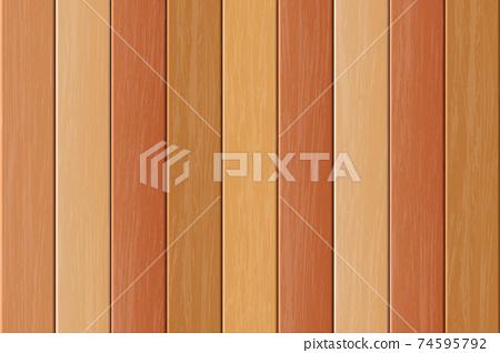 Wooden background vector design illustration 74595792
