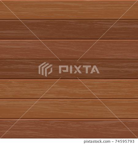 Wooden background vector design illustration 74595793