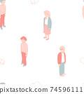 等距人模式需要社交距離 74596111