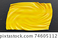 Abstract Yellow canvas. 74605112