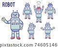 機器人面部表情集 74605146