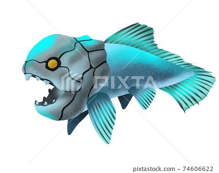 古代深海魚的插圖 74606622