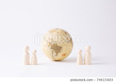 地球釘娃娃 74615803