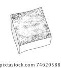 成分2-1燒豆腐②單色鍋,飯盒,也可用於烹飪圖像組合系列 74620588