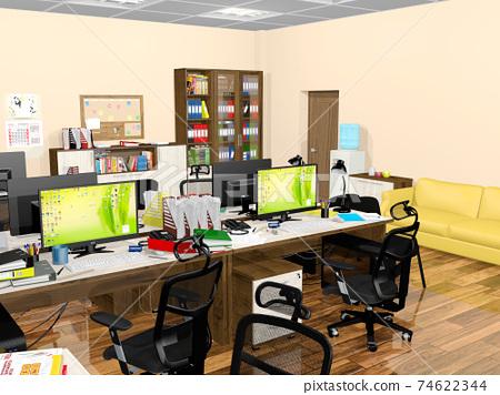 小型辦公室 74622344