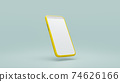 Mobile phone Mock-Up. 74626166