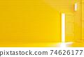 Yellow door. 74626177