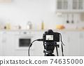 Furnished studio or flat apartment for rent, mortgage, real estate, renovation service concept 74635000