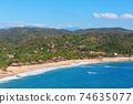 Mexican coast 74635077