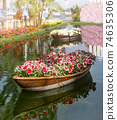 Decorations for flower market 74635306