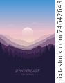 wanderlust wilderness mountain nature landscape 74642643