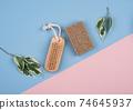 Zero waste brush and soap. 74645937