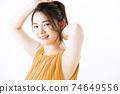 여성 헤어 미용 스킨 케어 74649556
