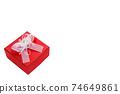 禮物情人節巧克力白色聖誕節 74649861