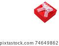 禮物情人節巧克力白色聖誕節 74649862