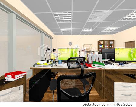 小型辦公室 74655616