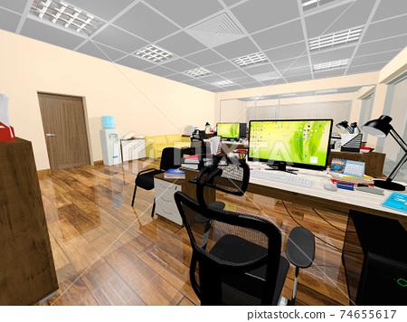 小型辦公室 74655617