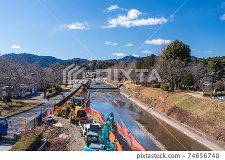河的護岸 74656748