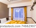背景資料商務酒店房間軟焦點 74662907