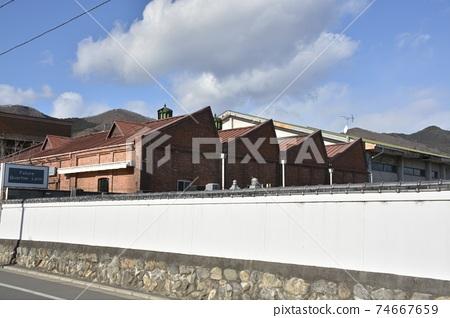 [군마현 기류시】 키류 신 마치 톱니 지붕 빵 공장 74667659