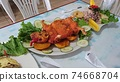 炒貨(豚鼠)/秘魯食物 74668704