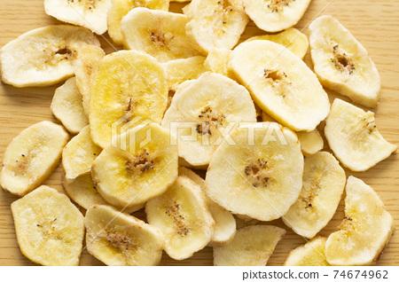 바나나 칩스 74674962