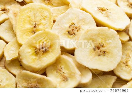 바나나 칩스 74674963