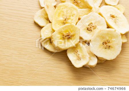 바나나 칩스 74674966
