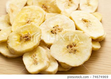 香蕉片 74674969
