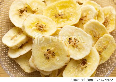 바나나 칩스 74674972