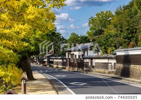 島根縣松江市Shiate Nawate Samurai Residence Street 74680085