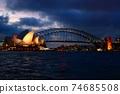 悉尼歌劇院夜景 74685508