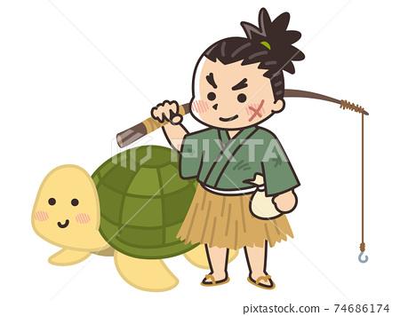 浦島太郎與烏龜日本民間故事 74686174