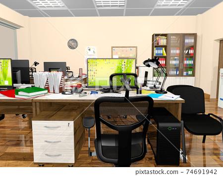 小型辦公室 74691942