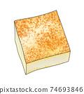 配料2-2燒豆腐②主線也可用於火鍋,便當盒和烹飪圖像組合系列 74693846
