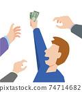 Men who win money 74714682