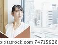 靠窗的女性商務場景閱讀資料 74715928